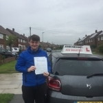 Shane Clough passed with John Michael Driving school
