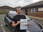 Chris Jordan passed with John Michael Driving School