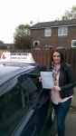 Emma Mason passed with John Michael Driving school