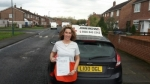 Andrea Roberts passed with John Michael Driving School