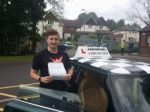 Spencer  passed with John Michael Driving school