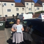 Vikki Birch passed with John Michael Driving School