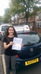 Pheobe Taylor passed with John Michael Driving school