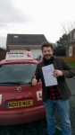 Jamie passed with John Michael Driving School