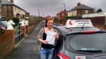 Cheryl Thompson passed with John Michael Driving School
