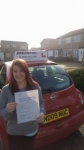 Rhiannon passed with John Michael Driving School