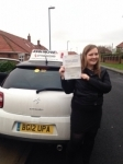 Jen Brown passed with John Michael Driving School
