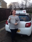Sara hall passed with John Michael Driving School
