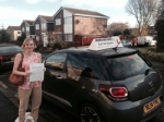 Kathy kier passed with John Michael Driving School