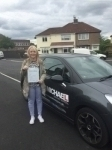 Kayleigh corby passed with John Michael Driving school