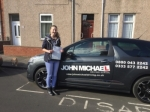 Kirsty Allan passed with John Michael Driving school
