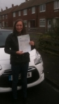Leanne, P passed with John Michael Driving School