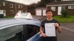 Lewis stevenson passed with John Michael Driving School