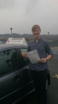 Liam-25/3/2014 passed with John Michael Driving School