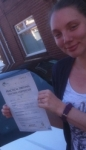Lisa, D passed with John Michael Driving school