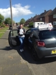 Marie Bell passed with John Michael Driving School