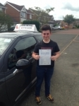 Matty Burn passed with John Michael Driving school