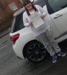 Melissa passed with John Michael Driving School
