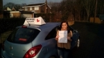 Olivia Turnbull passed with John Michael Driving school