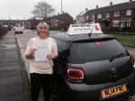 Suzanne Scott passed with John Michael Driving School