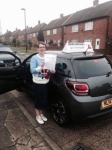 Teresa passed with John Michael Driving School