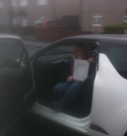 Vikki, F passed with John Michael Driving School