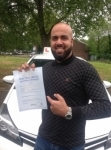 Waqas passed with KSM Driving School
