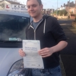 Dean Grahams passed with KSM Driving School