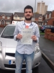 Hakan passed with KSM Driving School