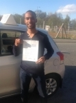 Wayne passed with KSM Driving School