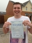 Johny Boy passed with KSM Driving School