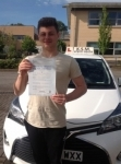 Konrad passed with KSM Driving School