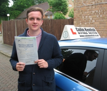 07 June 2012 - Mark passed with only 7 minor driving faults! Well done Mark, that was a really good result.    ´Thanks again for all the instruction you gave me to help me pass. You made the lessons really easy to learn and I made so much progress! Thanks again and good luck for the future, Mark´...