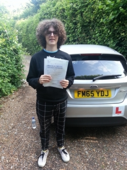 13 June 2018 - Alec passed 1st time with only 2 minor driving faults! Well done Alec, that was an excellent result...