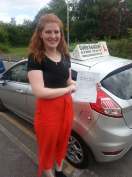 16 June 2017 - Lucy passed 1st time with only 6 minor driving faults! Well done Lucy, that was a really good result....