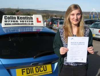 20 February 2012 - Ella passed 1st time with only 5 minor driving faults! Well done Ella, that was a really good result....