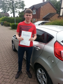 21 May 2018 - Tom passed 1st time with 7 minor driving faults! Well done Tom, that was a really good result....