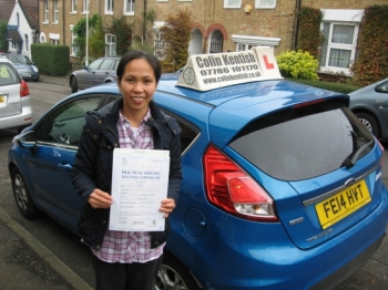 21 November 2014 - Jenny passed 1st time with only 2 minor driving faults! Well done Jenny, that was an excellent result....