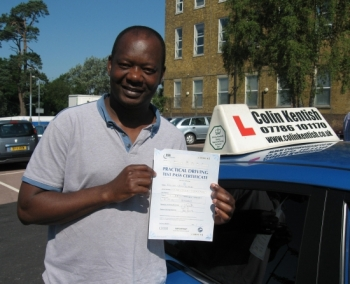 25 July 2012 - Milingo passed with only 1 minor driving fault! Well done Milingo, that was a brilliant result....