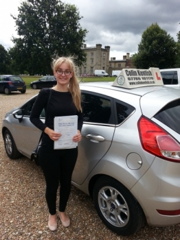 27 July 2015 - Katie passed 1st time with only 3 minor driving faults! Well done Katie, that was an excellent result....
