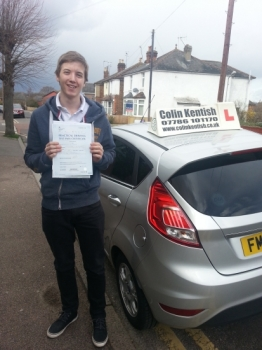 29 March 2016 - Alex passed 1st time with only 1 minor driving fault! Well done Alex, that was a brilliant result....