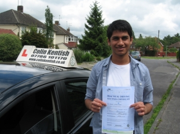 21 June 2011 - Joe passed with 9 minor driving faults. Well done Joe....