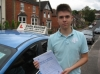 Billy Yates passed with Colin Kentish Driver Training