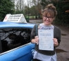 Nicole Askwith-Williams passed with Colin Kentish Driver Training