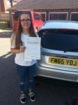 Ella Curry passed with Colin Kentish Driver Training
