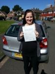 Chloe Elliott passed with Colin Kentish Driver Training