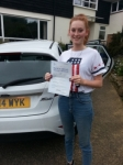 Harriet Storey passed with Colin Kentish Driver Training