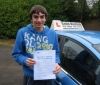 Richard Vigis passed with Colin Kentish Driver Training