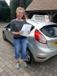 Ella Peto passed with Colin Kentish Driver Training