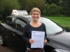 Frances Palmer passed with Colin Kentish Driver Training